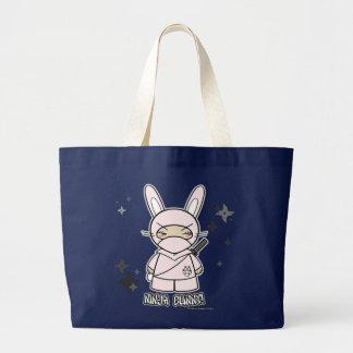 Ninja Häschen! Mit Shurikens Tasche