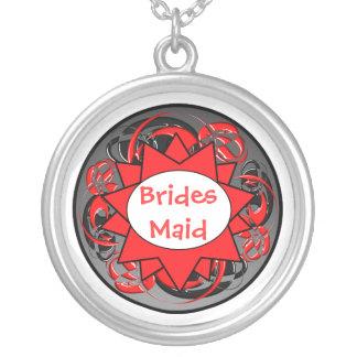 Ninja Hochzeits-Halskette Halskette Mit Rundem Anhänger