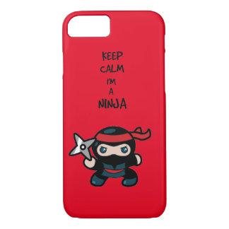 Ninja iPhone 8/7 Hülle