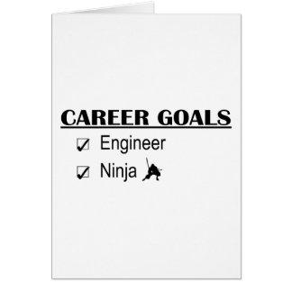 Ninja Karriere-Ziele - Ingenieur Karte