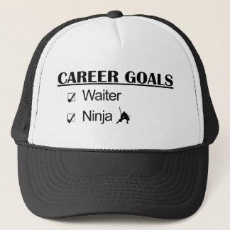 Ninja Karriere-Ziele - Kellner Truckerkappe