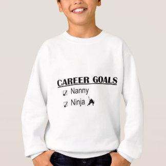 Ninja Karriere-Ziele - Kindermädchen Sweatshirt