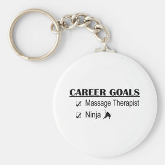 Ninja Karriere-Ziele - Massage-Therapeut Schlüsselanhänger