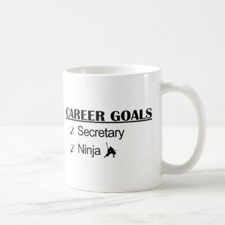 Ninja Karriere-Ziele - Sekretär Kaffeetasse