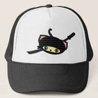 ninja Katze kawaii Truckerkappe