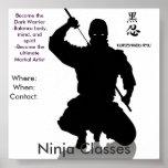 Ninja Klassen, wo: Whe… Plakatdrucke
