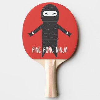 Ninja Klingeln Pong Paddel Tischtennis Schläger