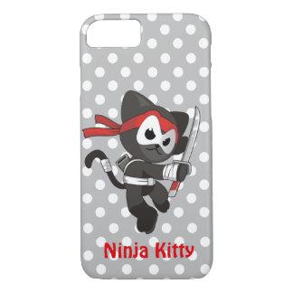 Ninja Miezekatze iPhone 7/8 Fall iPhone 8/7 Hülle