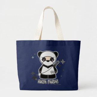 Ninja Panda! Mit Shurikens Tasche