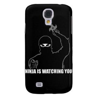 Ninja passt Sie auf Galaxy S4 Hülle