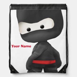 Ninja Rucksack - Drawstring Turnbeutel