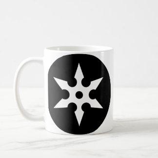 Ninja Shuriken Ideologie Kaffeetasse