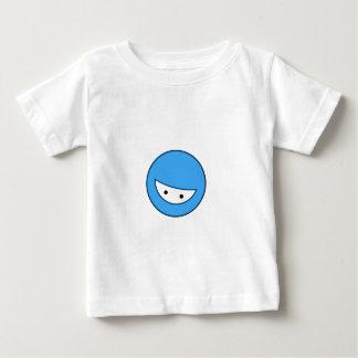 Ninja stellen gegenüber (Blau Baby T-shirt