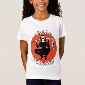 ninja Tänzer-Mädchenbaby - Puppen-T - Shirt