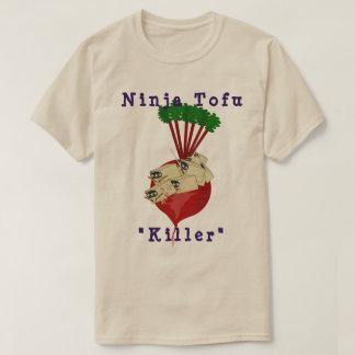 Ninja Tofu - rote Rüben - Mörder T-Shirt