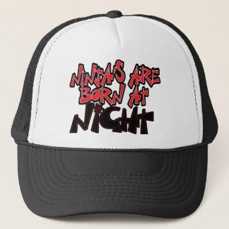 Ninjas sind nachts geboren truckerkappe