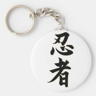 Ninjutsu Standard Runder Schlüsselanhänger