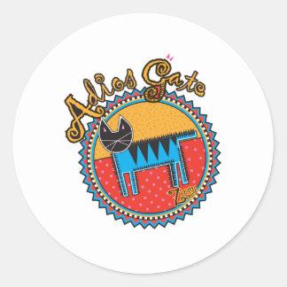 Niños Adios Gato Sticker