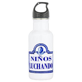 Niños Luchando, Granada-Straßenschild Trinkflaschen