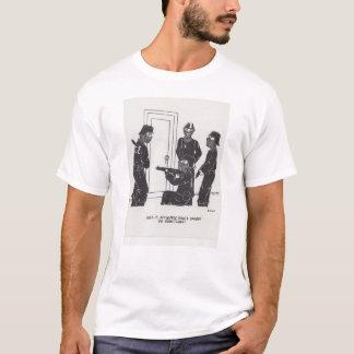 Nippel-Ring-Cartoon T-Shirt