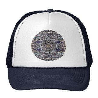 Nirwana-drittes Auge Chakra Mandala-Hut Retrokult Cap
