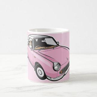 Nissan Figaro-Rosa Kaffeetasse