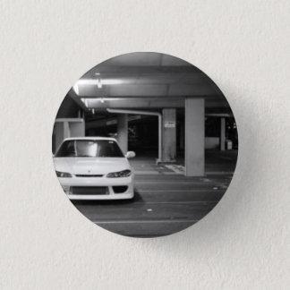 Nissan Silvia plattiert Stift/ Runder Button 2,5 Cm
