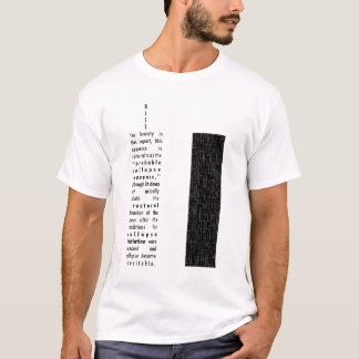 NIST-Turm-Bericht T-Shirt