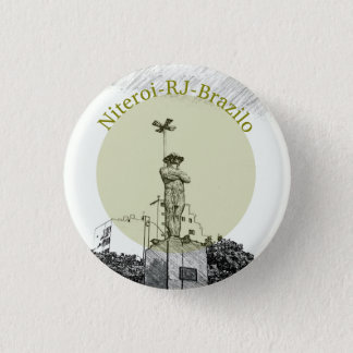 Niteroi Runder Button 2,5 Cm