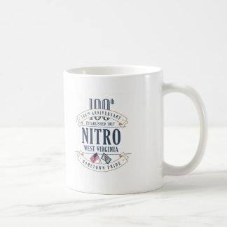 Nitro, 100. Jahrestags-Tasse West Virginia Kaffeetasse