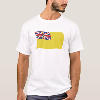 Niue Flaggen-Shirt T-Shirt