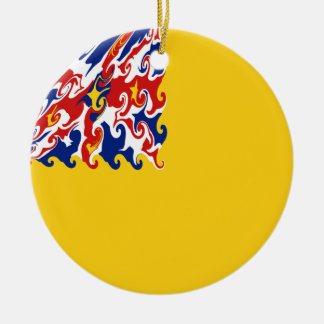 Niue Gnarly Flagge Weihnachtsornament