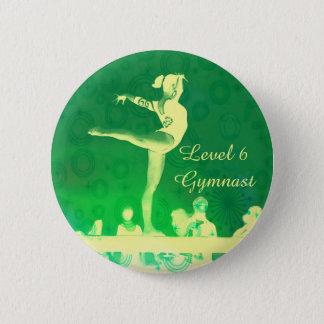 Niveau6 Gymnast-Knopf Runder Button 5,7 Cm