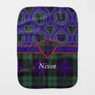 Nixon-Clan karierter schottischer Kilt Tartan Spucktuch