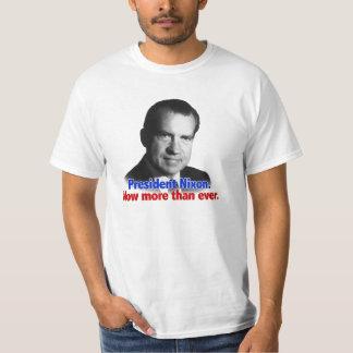 Nixon jetzt mehr als überhaupt t shirts