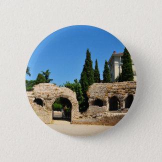 Nizza Cimiez, Frankreich Runder Button 5,1 Cm