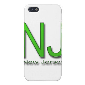 NJ New-Jersey Grün iPhone 5 Hülle