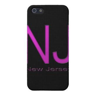 NJ New-Jersey Magenta iPhone 5 Hülle
