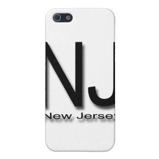 NJ New-Jersey Schwarzes iPhone 5 Hülle