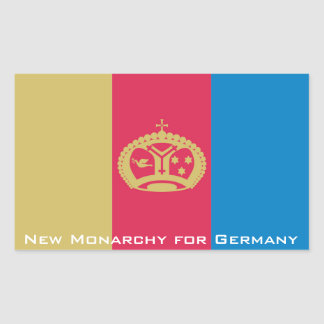 NMfG-Aufkleber Rechteckiger Aufkleber