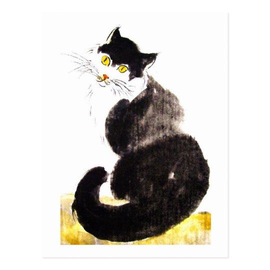 No.06 * Katzen-Kunst-Postkarte * Cat-Art-Postcard Postkarte