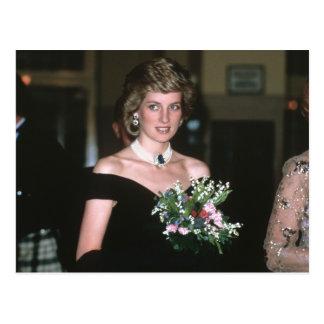 No.131 Prinzessin Diana Wien 1986 Postkarte