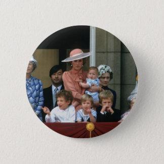 No.20 Buckingham Palace 1985 Prinz-William Runder Button 5,1 Cm