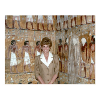 No.230 Prinzessin Diana Ägypten 1992 Postkarten