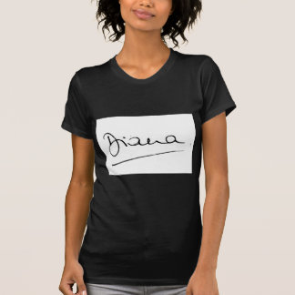 No.34 die Unterzeichnung von Prinzessin Diana T-Shirt