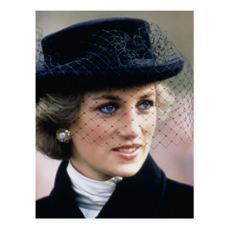 No.44 Prinzessin Diana Frankreich 1988 Postkarte