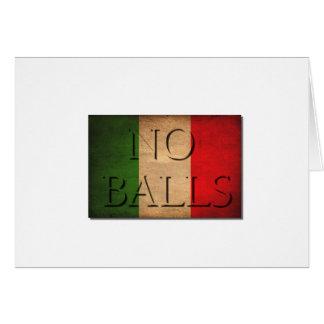 """""""No Ball jetzt illegal, zu einem Mann in Italien Karte"""