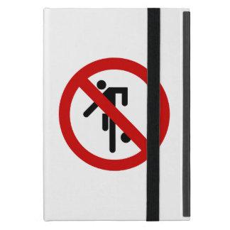No Ball-Spiele ⚠ thailändisches Park-Zeichen ⚠ iPad Mini Hüllen