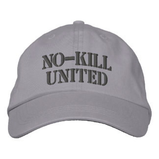NO-KILL VEREINIGT: HAT-DCH BESTICKTE KAPPE