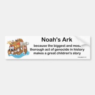 Noahs Arche Autoaufkleber